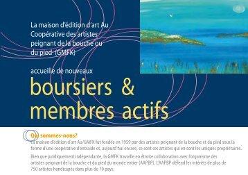 boursiers & membres actifs - français