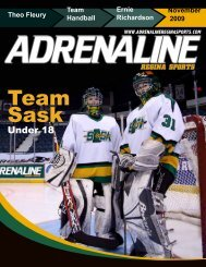 November - Adrenaline Regina Sports Magazine in Regina ...