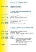 05.02.2006 G a rm isc h - Abteilung und Poliklinik für Sportorthopädie - Page 4