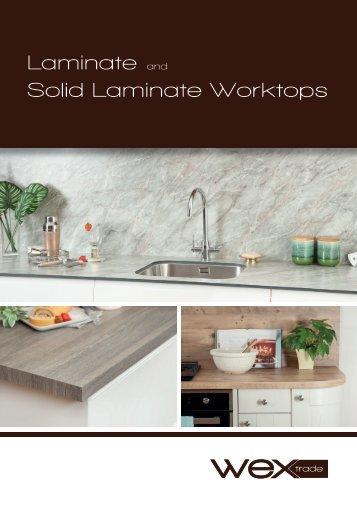 Laminate and Solid Laminate Worktop Brochure