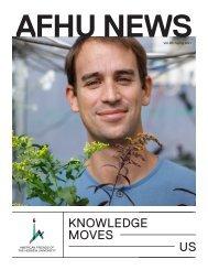 AFHU News Vol. 26