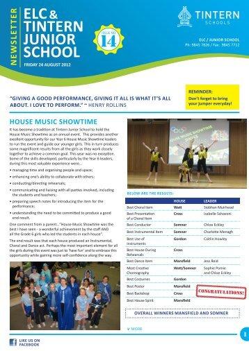 TINTERN JUNIOR SCHOOL - Tintern Schools
