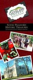 scenic pleasures historic treasures - Cleveland County Chamber of ...