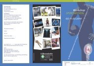 Workshop SPORTMEDIZIN - austrian-orthopaedics.com