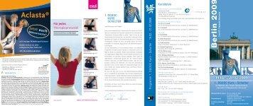 Aclasta® Jetzt auch - Abteilung und Poliklinik für Sportorthopädie