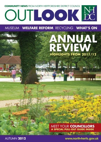 Outlook Autumn 2012 - North Hertfordshire District Council