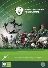 EMERGINGTALENT PROGRAMME - Park Celtic Football Club