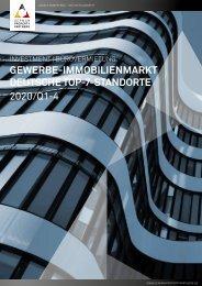 German Property Partners: Marktbericht Büro & Investment 2020