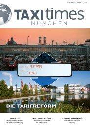 Taxi Times München - 1. Quartal 2021