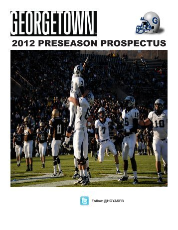 2012 PRESEASON PROSPECTUS - Community