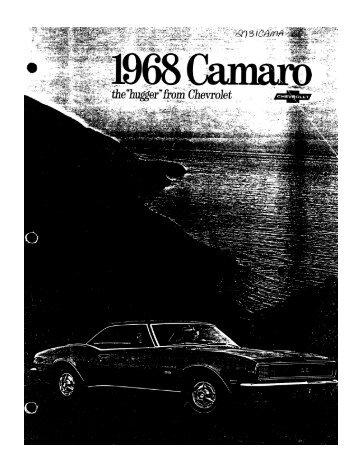 1968 Chevrolet Camaro - GM Heritage Center