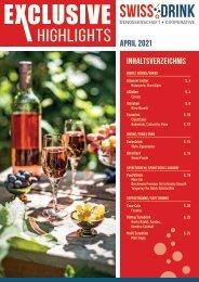 Swiss Drink Exclusive April 2021