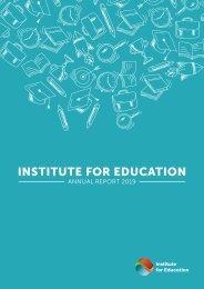 IfE - Annual Report 2019