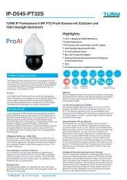 IP-D545-PT32S Datenblatt