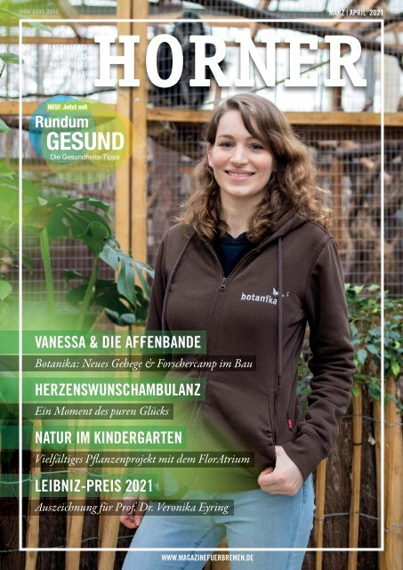 HORNER Magazin | März-April 2021