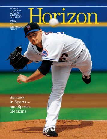 Success in Sports – and Sports Medicine - Hospital for Special ...