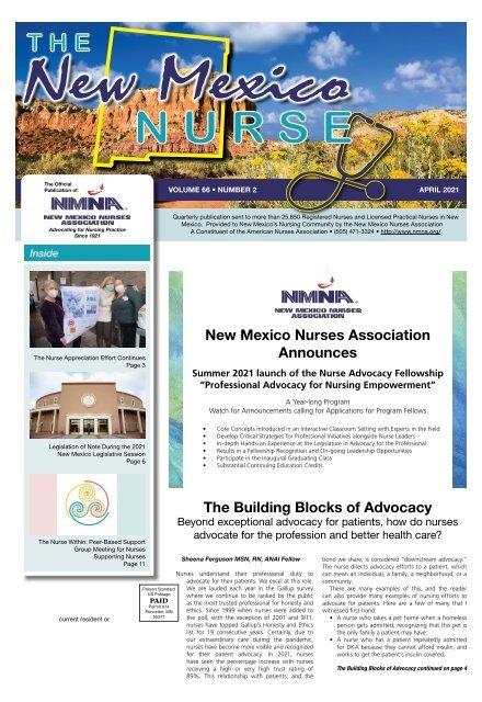New Mexico Nurse - April 2021