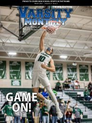 March 2021 Issue of Varsity Monthly Thumb Magazine