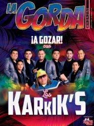 La Gorda Magazine Año 6 Edición Número 63 Marzo 2020 Portada: Los Karkiks