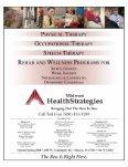 orthopedic magazines - Central Indiana Orthopedics - Page 2