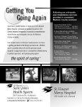 orthopedic magazines - Central Indiana Orthopedics - Page 7
