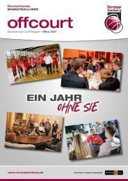 offcourt - Das Brose Bamberg Business Club Magazin
