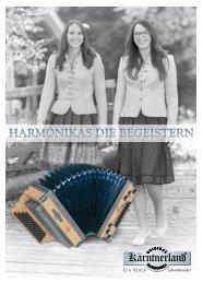 Original Kärntnerland Harmonika Infofolder