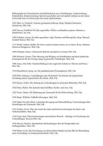 dissertation and habilitation