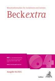 BeckExtra 04/2021
