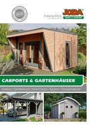 Joda Carports + Gartenhäuser