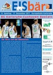 17. Dezember 2011 - BG Karlsruhe