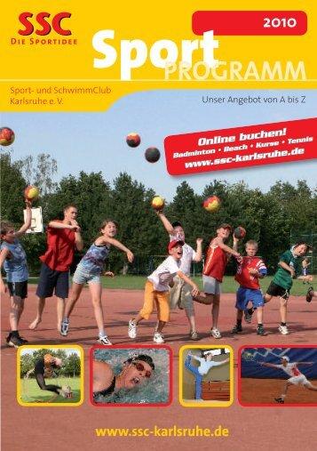 Fitness · Sauna · Aerobic - Sport und Schwimmclub Karlsruhe eV