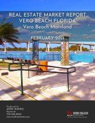 Vero Beach Mainland Real Estate Market Report February 2021