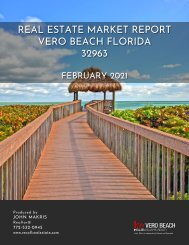 Vero Beach 32963 Real Estate Market Report February 2021