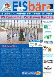 BG Karlsruhe : Cuxhaven BasCats