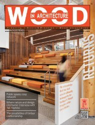 Wood In Architecture Issue 1, 2021