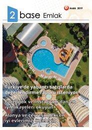 2Base Online Magazine December 2019 Turkish