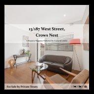 13 187 West St, Crows Nest
