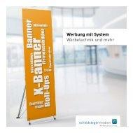Werbung mit System - Werbetechnik und mehr