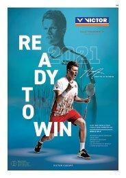 VICTOR Badminton Catalogue