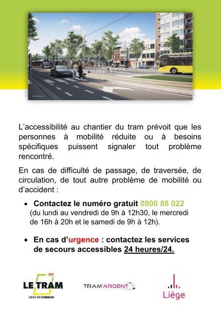 Accessibilité des PMR au tram