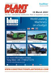Construction Plant World -18th March 2021
