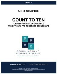 COUNT TO TEN-ALEX SHAPIRO