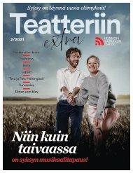 Teatteriin Extra 2/2021