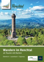Wandern im Renchtal / Schwarzwald