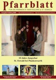 10 Jahre Jungschar St. Oswald bei Plankenwarth - der Pfarre St ...