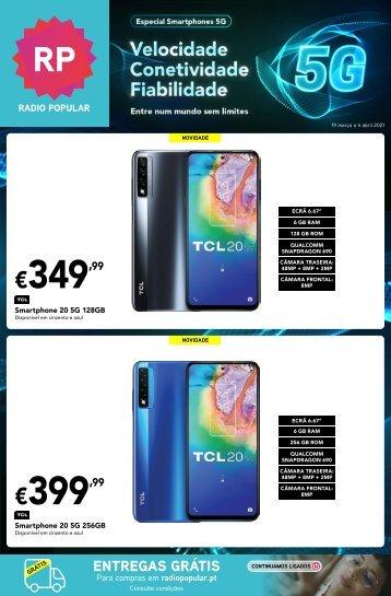 Folheto Especial Smartphones 5G
