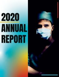 ANA-Michigan - 2020 Annual Book of Reports