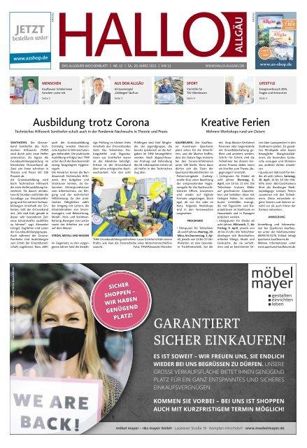 Hallo-Allgäu  vom Samstag, 20.März