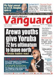 20032021 - Arewa youths give Yoruba 72hrs ultimatum to leave north